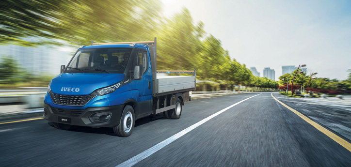 Top Motorleistung beim IVECO Daily Fahrgestell